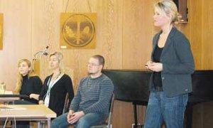 Referenten berichten von ihrer Erfahrung in den Berufen