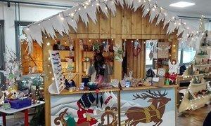 Der kleinste Indoor-Weihnachtsmarkt Hessens